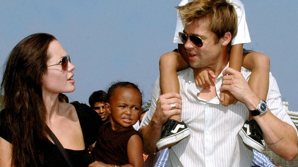 Angelina Jolie, Brad Pitt, Zahara Jolie-Pitt