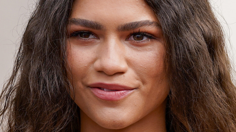 Zendaya smiling